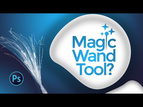 How to Remove Background with the Magic Wand tool? Cut out | Delete Background