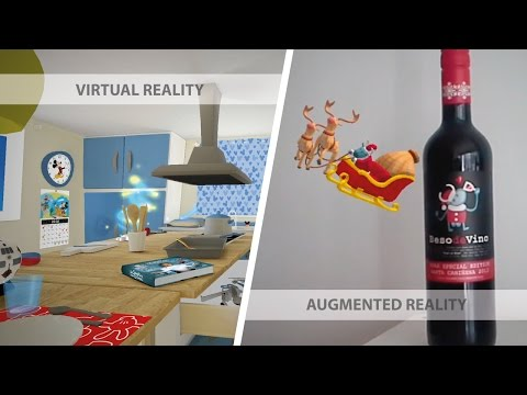 Augmented Reality vs Virtual Reality, what is the difference?