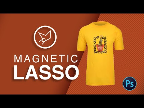 How to remove Image Background with Magnetic Lasso tool | Width| Contrast | Frequency | Shortcut