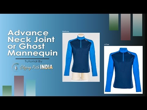 Ghost/Invisible Mannequin/Neck Joint Step by Step Tutorial by CPI
