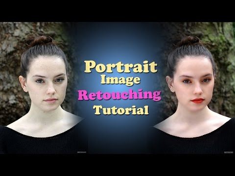Easy & quick Glamour Retouching technique for the beginners