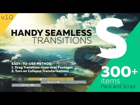 After Effects Template: Handy Seamless Transitions | Pack & Script