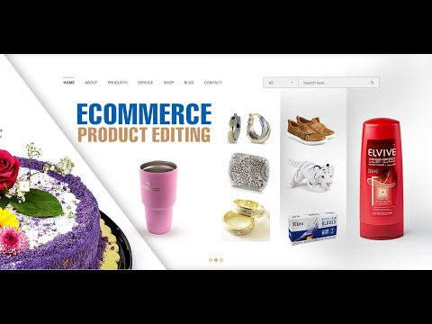E-Commerce Product Photo Editing Service