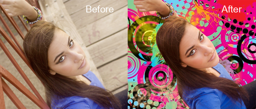 Simple Clipping Path with Hair Masking