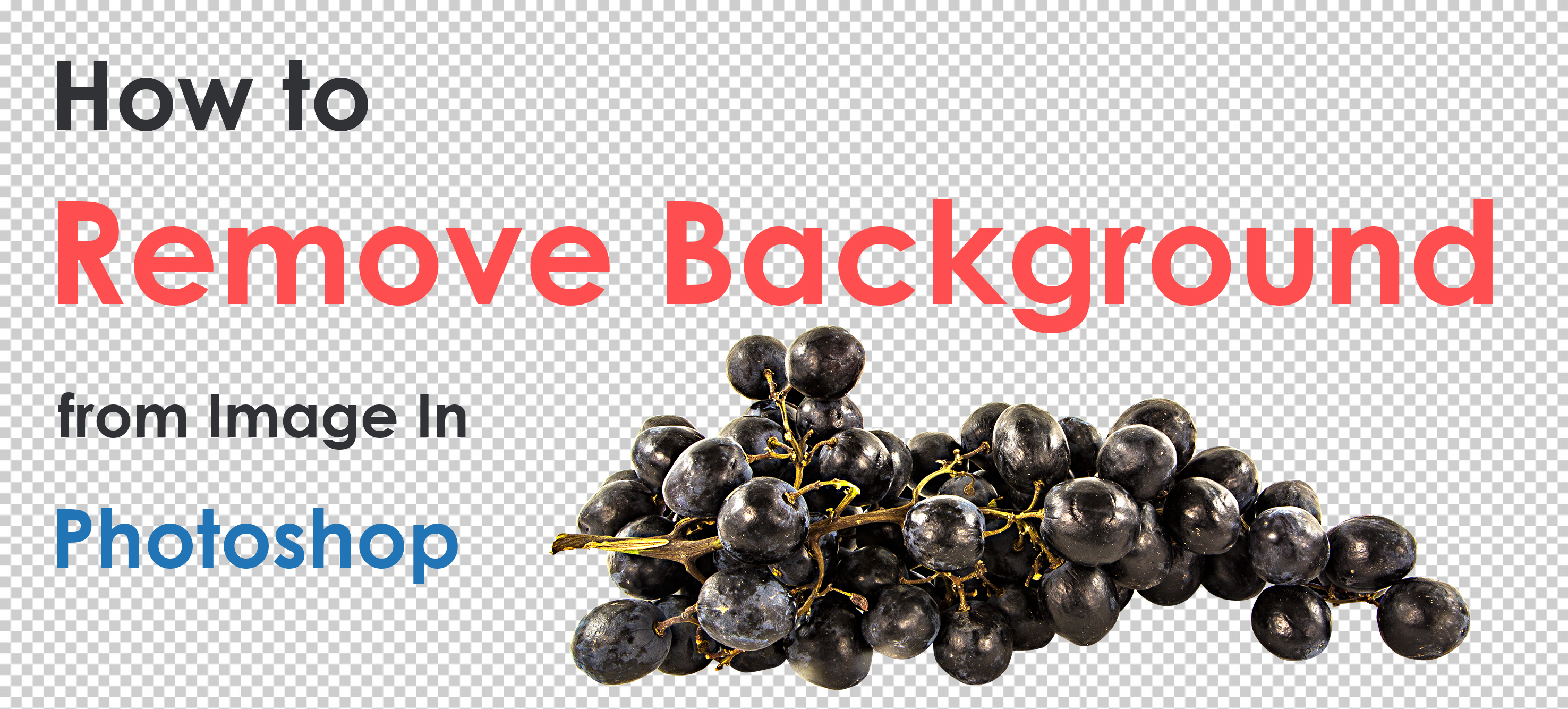 How to Remove Background from Image In Photoshop