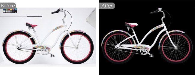 Photo Background Removal Service with Complex Shapes