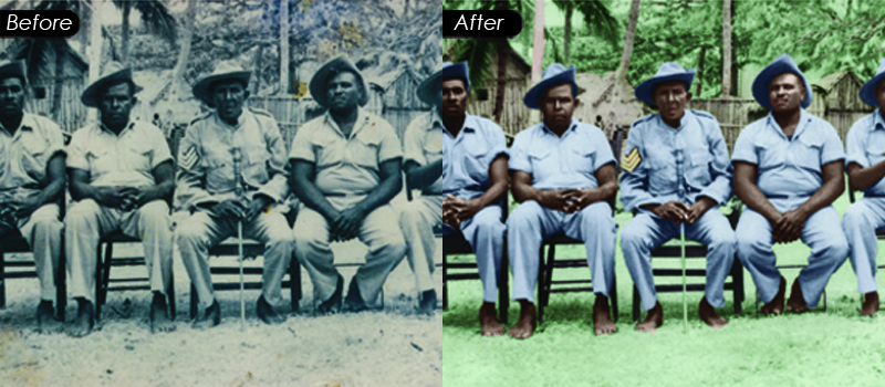 High End Photo Restoration Service
