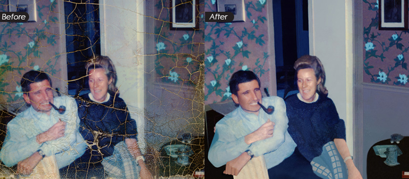 Damaged Photo Restoration Services