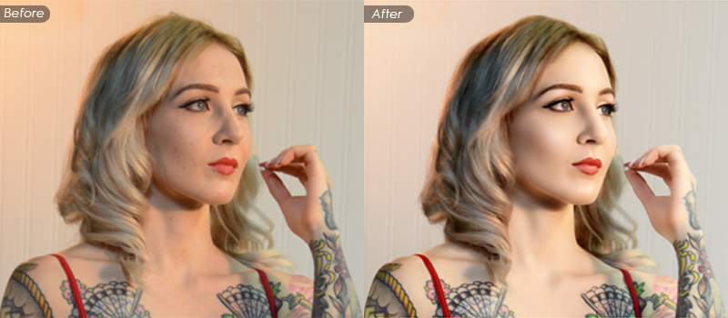 High End Beauty Retouching and Digital Airbrushing Service
