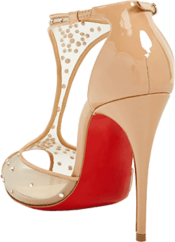 red-ladies-shoe