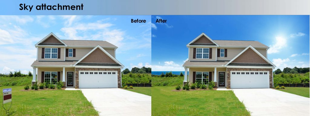 Real Estate and Architectural Photo Enhancement Services