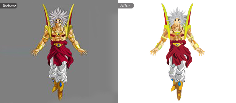 Clipping Path Services for Simple Shaped Objects or Subjects