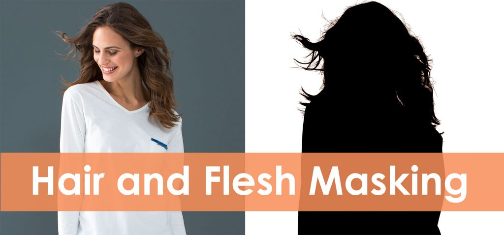 hair and flesh masking