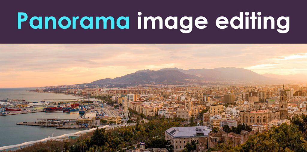 Panorama-image-editing