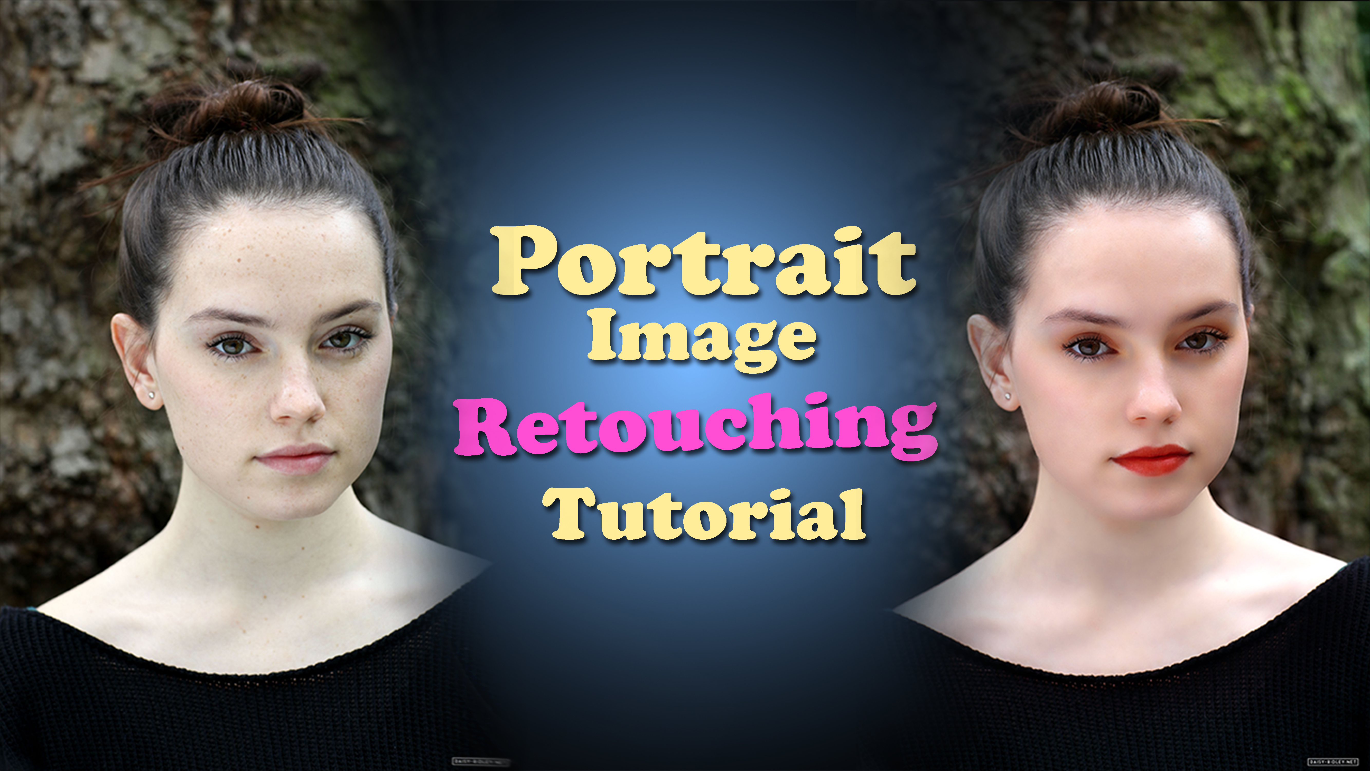 Portrait Image Retouching Tutorial