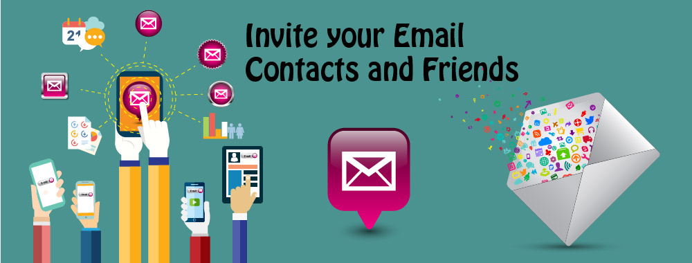 Invite your Email Contacts and Friends-01