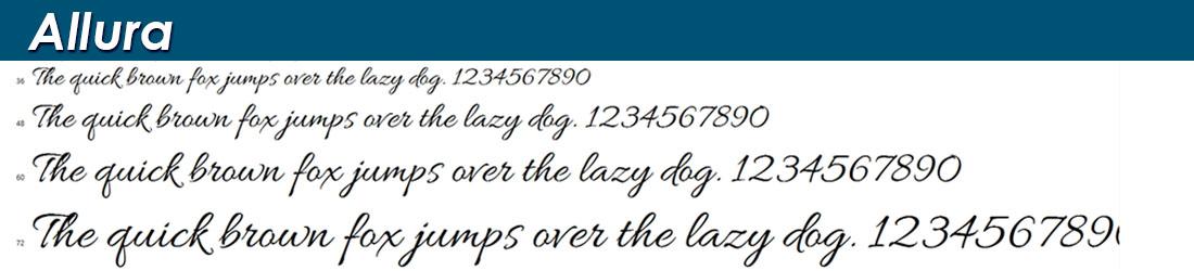 100 Best Public Domain & Free Calligraphy, Script, Cursive Fonts