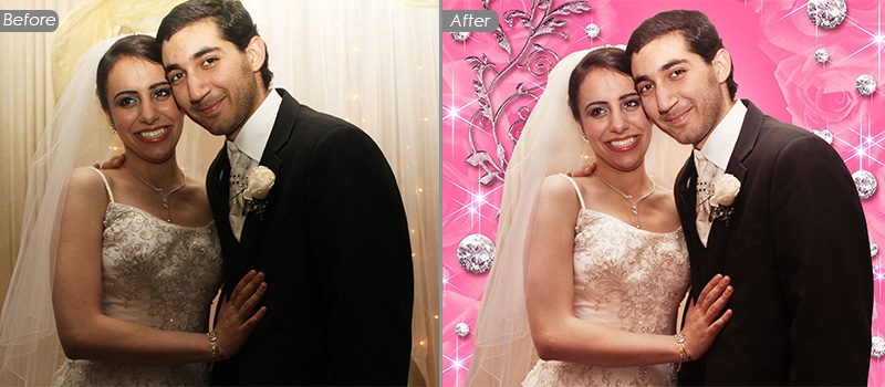 Wedding Photo Enhancement Services