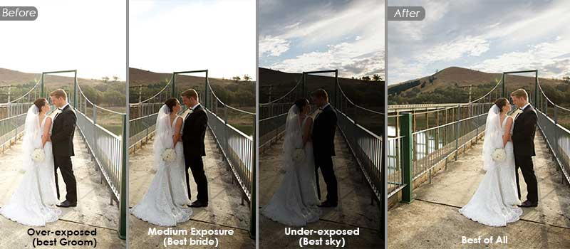 HDR Blending & Photo Enhancement Service