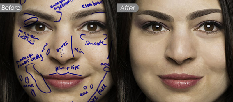 Nnon-destructive Wacom-based High End Retouching Service