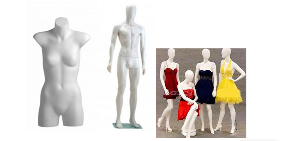 Type of Mannequins