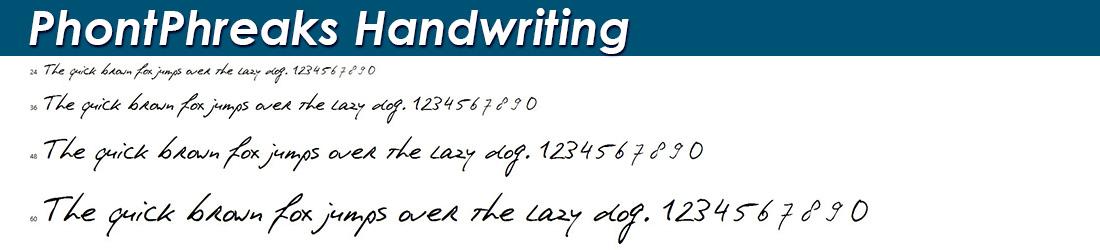PhontPhreaks-Handwriting