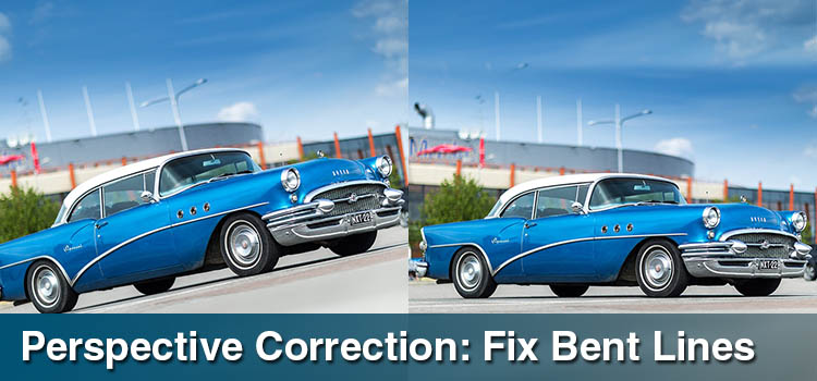 Perspective Correction Fix Bent Lines