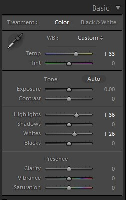 Juno Lightroom Preset
