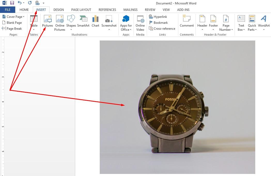 insert ecommerce product image