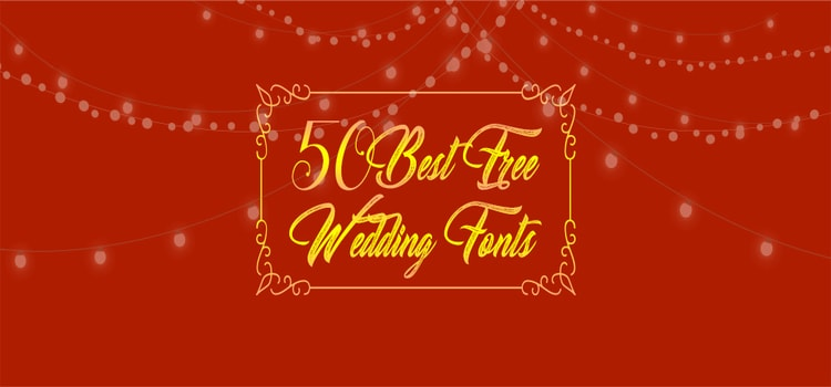 free wedding fonts