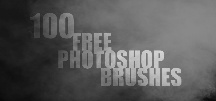 100 free brushes for Adobe Photoshop - You can Try