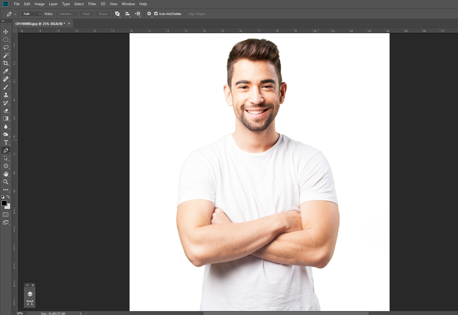 Open Photoshop to start Painting Effect
