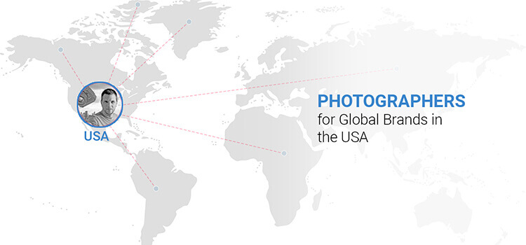 Photographers for Global Brands in the USA