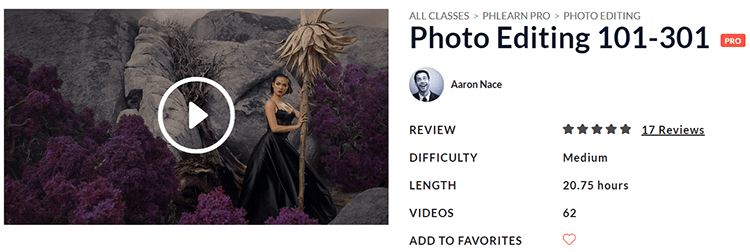 PHLEARN Photo Editing 101-301