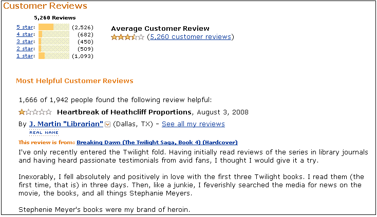 peruse customers' reviews and comments