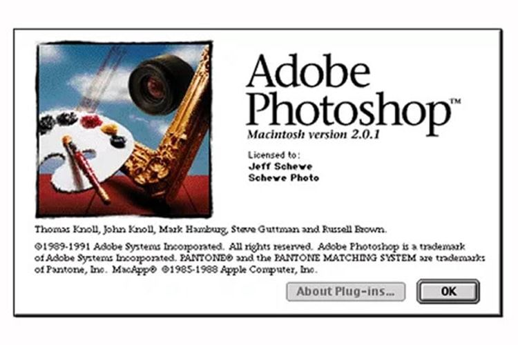 Adobe Photoshop 2.0.1
