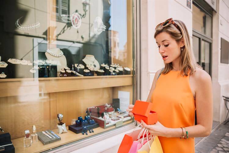 Female Jewelry Shopper