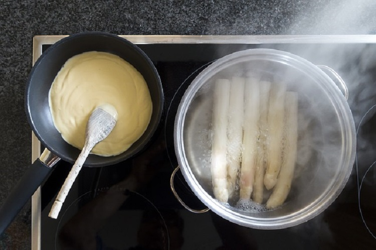 Water steam or vapors