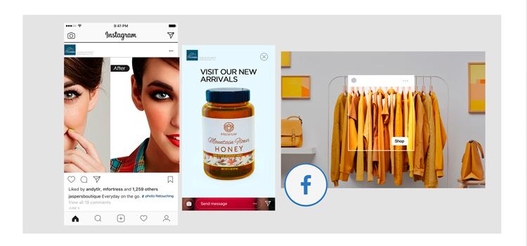 Shopping Facility in Social Media