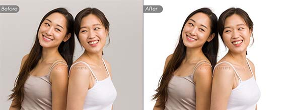 Photo Background Removal Service with Photoshop Image Masking (Images with Soft Edges)