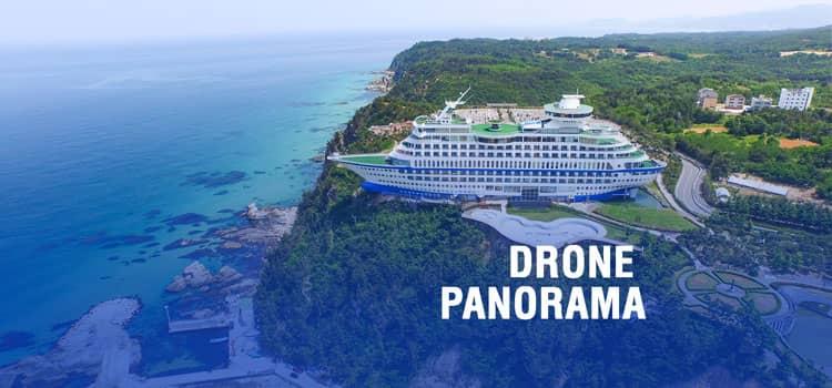 360° drone panorama