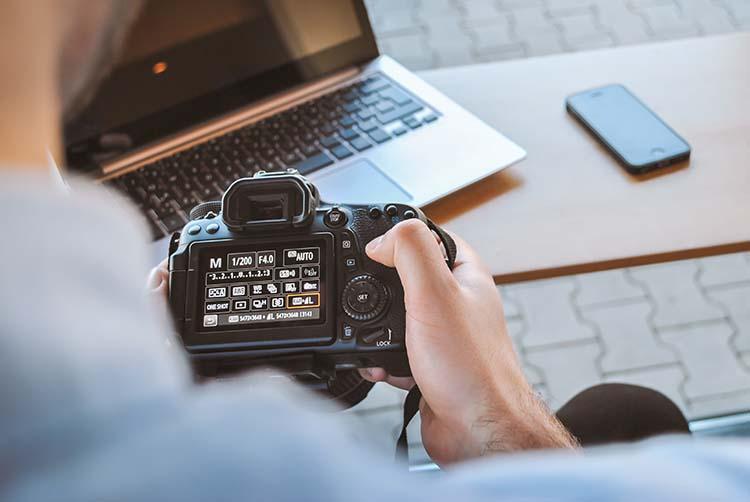In-camera Light Meter
