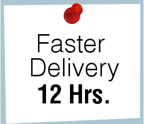 Fast Delivery 12 Hrs.