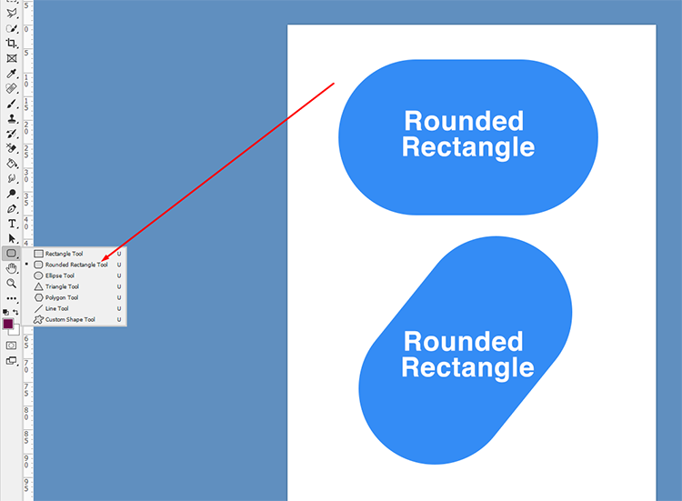 Live Shapes- Rounded Rectangle